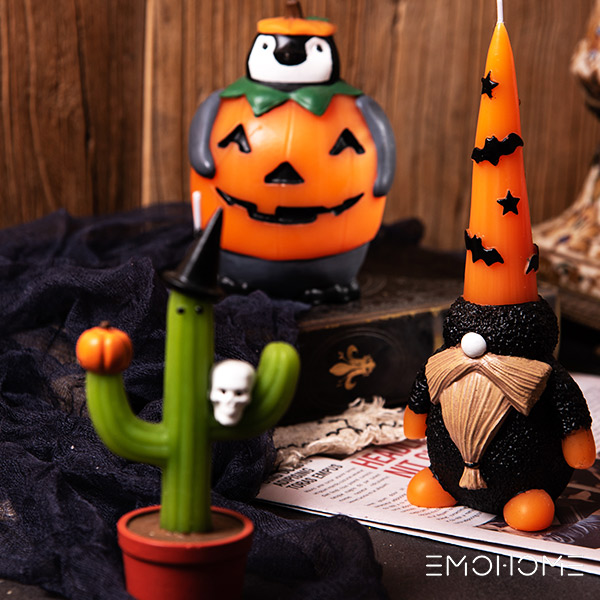 How to Decorate Candle Holders For Halloween