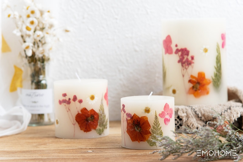 Spring candle