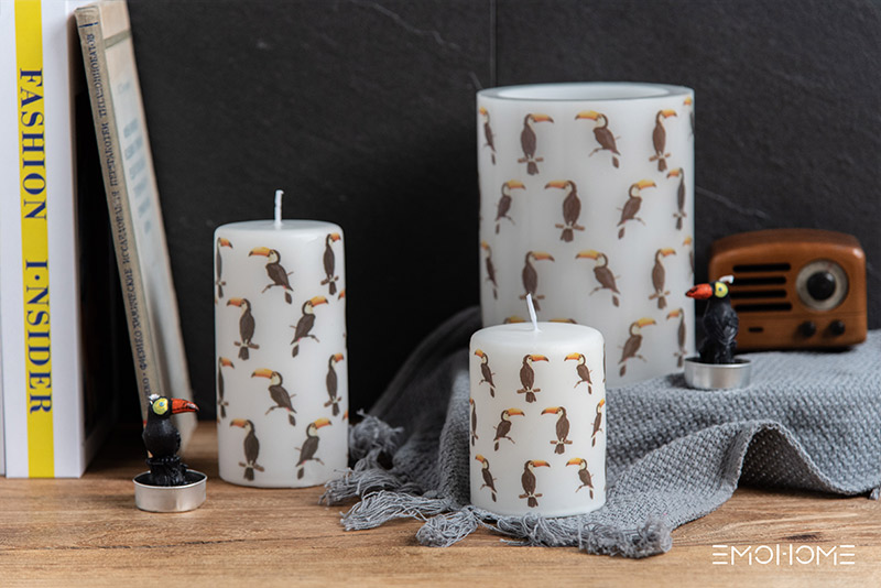 Tropical candle
